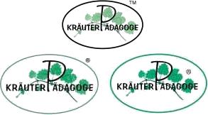 Logo Kräuterpädagoge - eingetragene Wort-Bildmarke